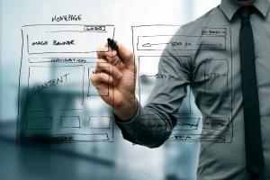 ManDoing web design Wireframe_300px